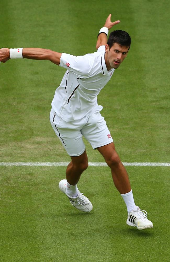 Djokovic - W '13 - Reuters