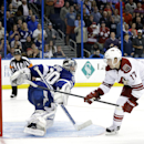 Vrbata scores in SO; Coyotes top Bolts 4-3 The Associated Press