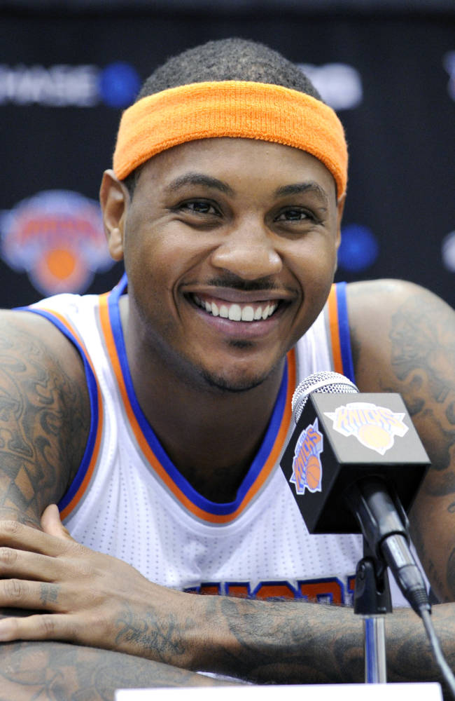 Knicks try to become better before Melo decision