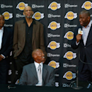 Los Angeles Lakers Introduce Byron Scott Getty Images
