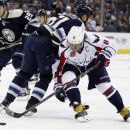 Ovechkin's 2 goals lift Capitals past Blue Jackets, 5-3 The Associated Press