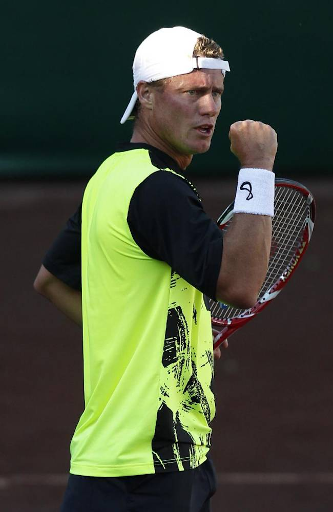 Hewitt beats Polansky in Houston