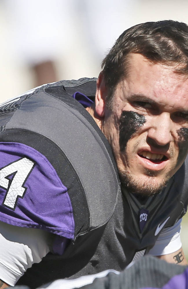 TCU senior QB Casey Pachall gratefully changed