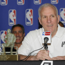 Spurs' Popovich wins NBA Coach of the Year The Associated Press