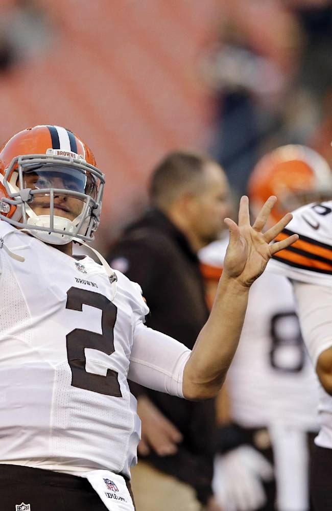 Steelers take on familiar face in Browns' Hoyer
