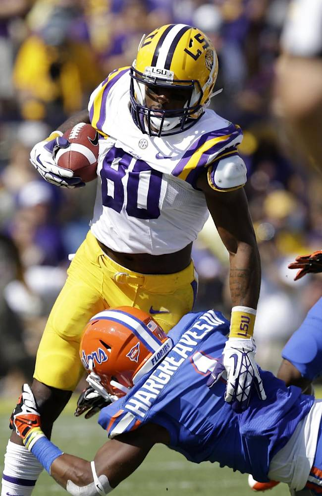 Friendship bonds receiving tandem for No. 6 LSU