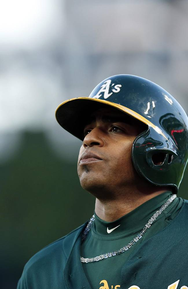 A's left fielder Cespedes ready for new season