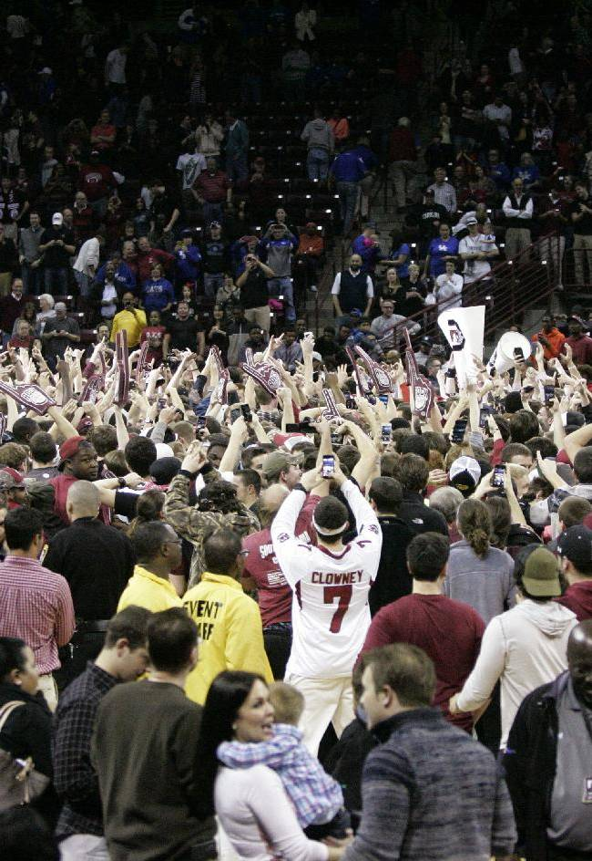 SEC fines South Carolina $25,000 for celebration