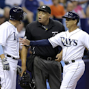 Rays' Cabrera tossed for arguing - loses bat and helmet, too The Associated Press