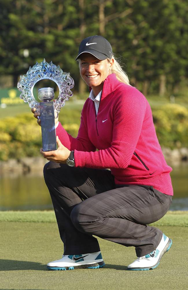 Suzann Pettersen wins again in Taiwan