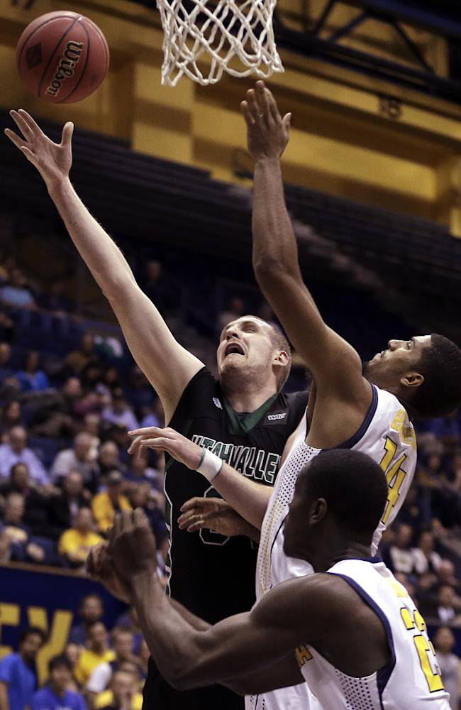 Short-handed California beats Utah Valley in NIT