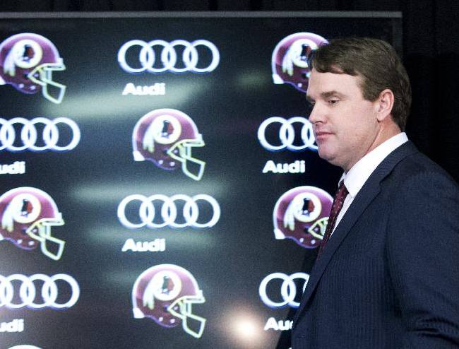 New coach Gruden latest to tackle Redskins turmoil