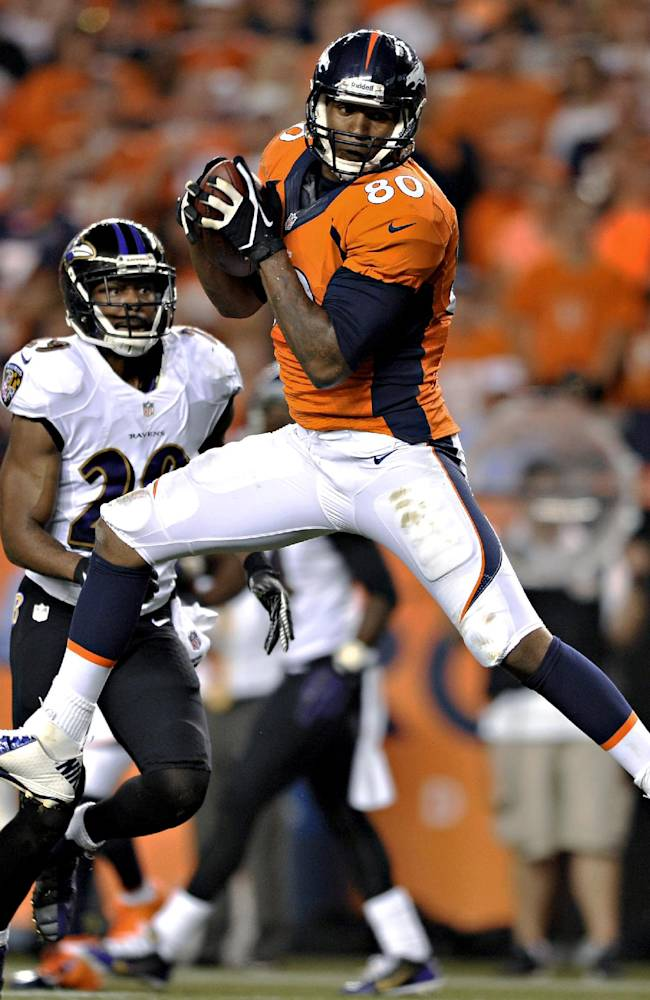 Denver tight end Julius Thomas no longer a no-name