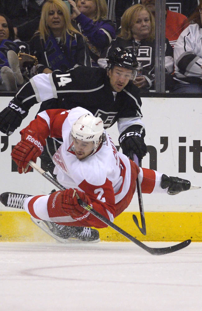 Tomas Tatar leads Red Wings past LA Kings 3-1