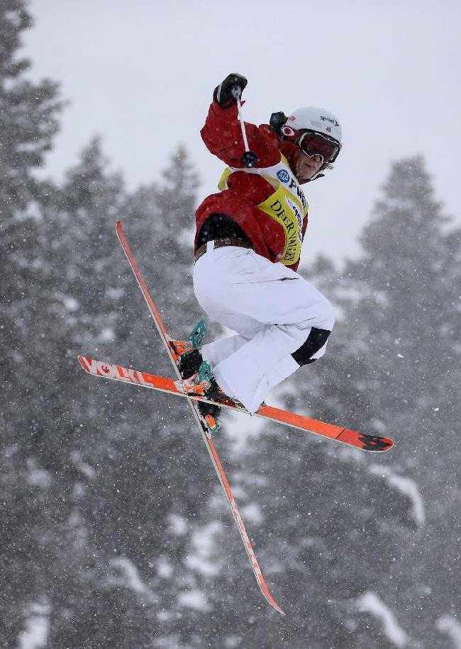 Kearney, Kingsbury win World Cup moguls event