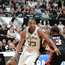 Boris Diaw is staying in San Antonio The Associated Press