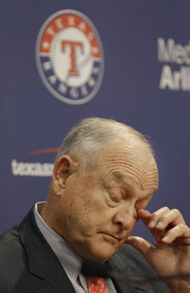 Nolan Ryan retiring as CEO of Texas Rangers