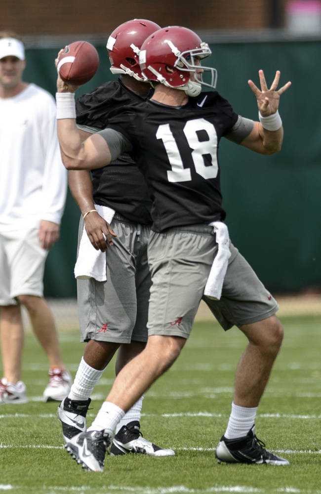 Alabama, Kiffin start Phase 1 of QB search