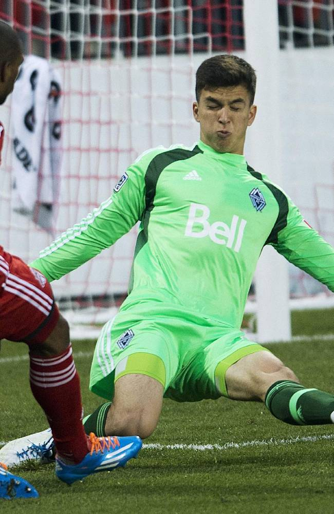 Toronto FC beats Whitecaps 2-1 in Canadian semi