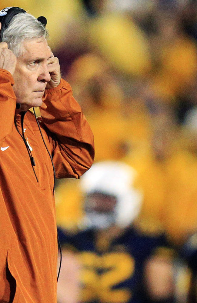 Texas AD: 'No decisions' made yet about Mack Brown