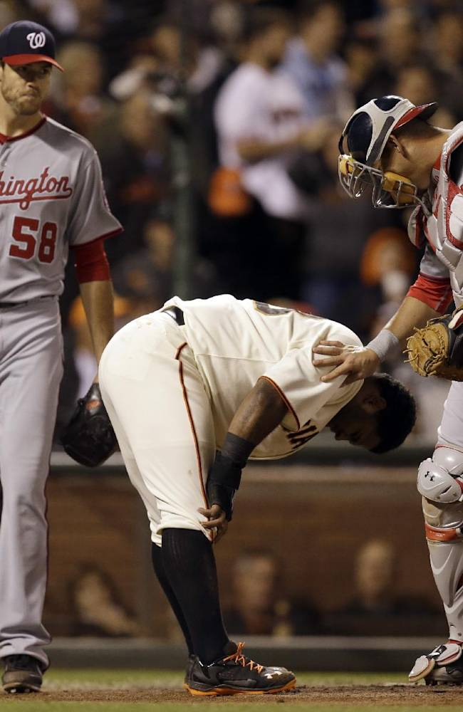 Sandoval scratched from Giants lineup with illness
