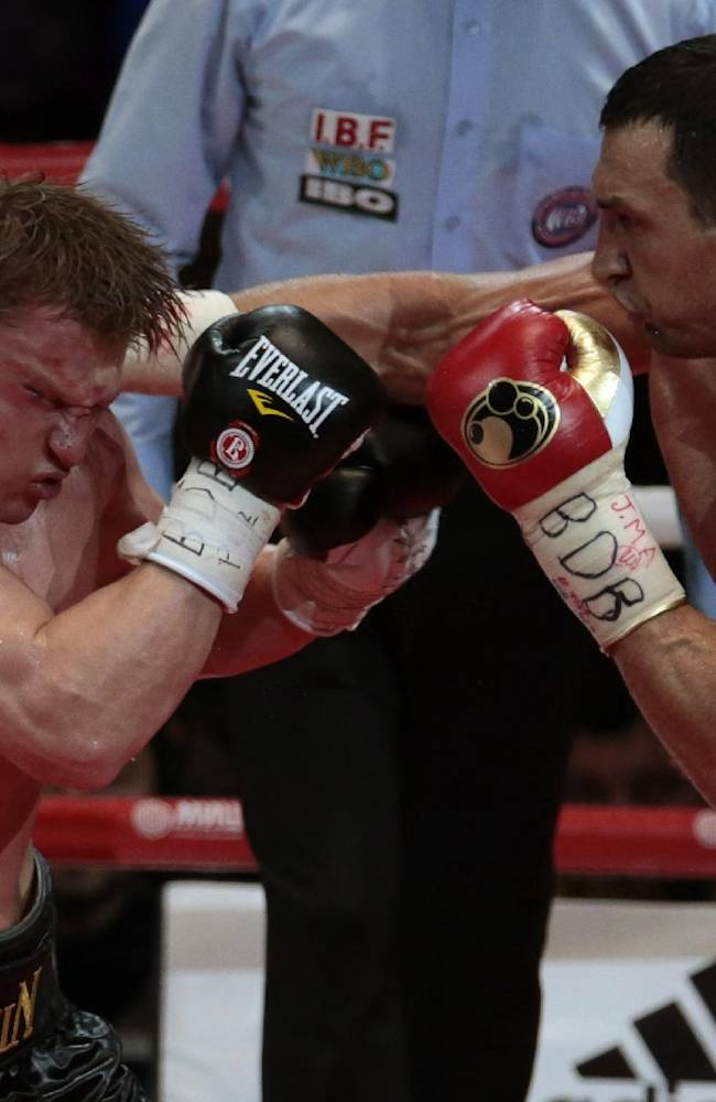 Klitschko beats Povetkin to retain titles