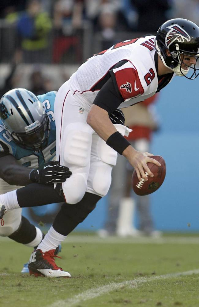 Falcons' losses mount with Ryan's interceptions