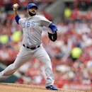 Chicago Cubs starting pitcher Carlos Villanueva throws during the first inning of a baseball game against the St. Louis Cardinals, Saturday, April 12, 2014, in St. Louis The Associated Press