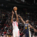 Rockets win 3rd straight, 97-82 over Jazz; Harden has 30 The Associated Press