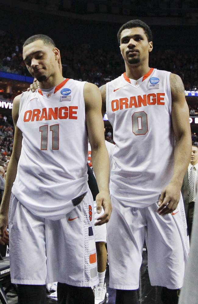 Syracuse's Tyler Ennis entering NBA draft