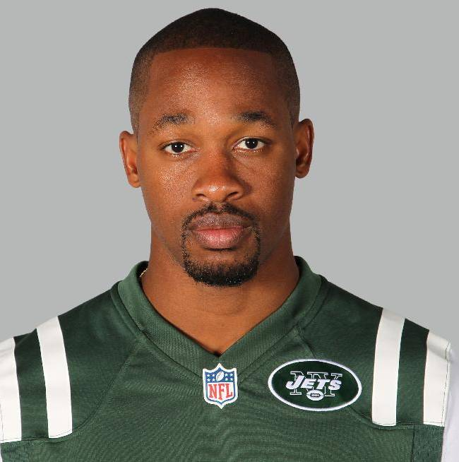 This is a 2014, file photo showing Dimitri Patterson of the New York Jets NFL football team. The Jets have