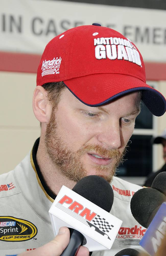 Dale Jr's team on top in Nationwide