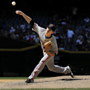 San Francisco Giants starting pitcher Tim Lincecum throws against the Arizona Diamondbacks during the fourth inning of a baseball game on Thursday, April 3, 2014, in Phoenix The Associated Press