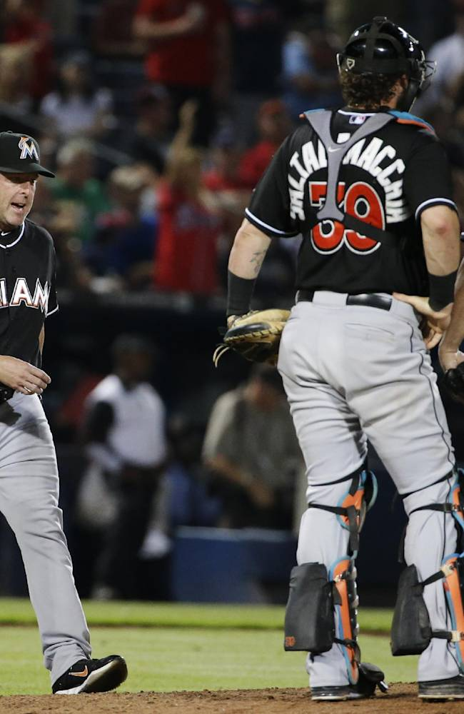 Upton, Heyward spark Braves past Marlins