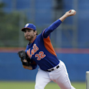 New York Mets pitcher John Lannan throws for batting practice during spring training baseball Saturday, Feb. 22, 2014, in Port St. Lucie, Fla The Associated Press