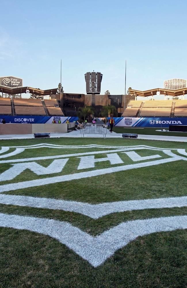 NHL icemakers say Dodger Stadium game will be cool