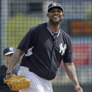 Sabathia throws simulated game; Capuano out until May The Associated Press
