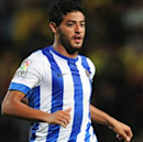 Vela assists on opener as Sociedad takes step toward UCL group stage
