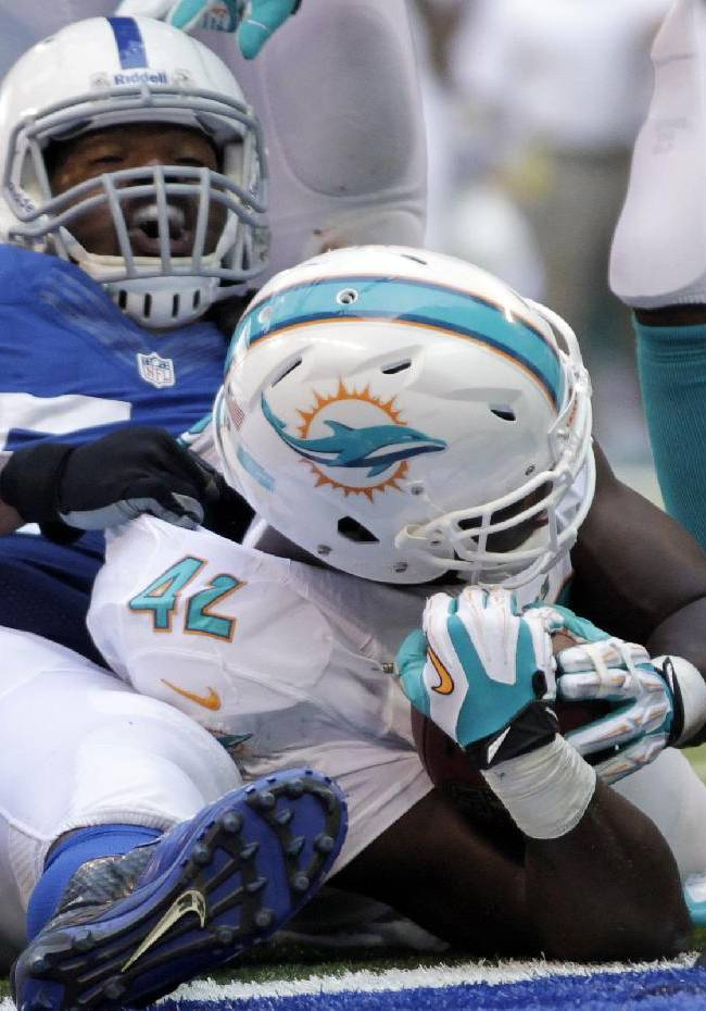 Dolphins' Clay thriving as a starter at TE