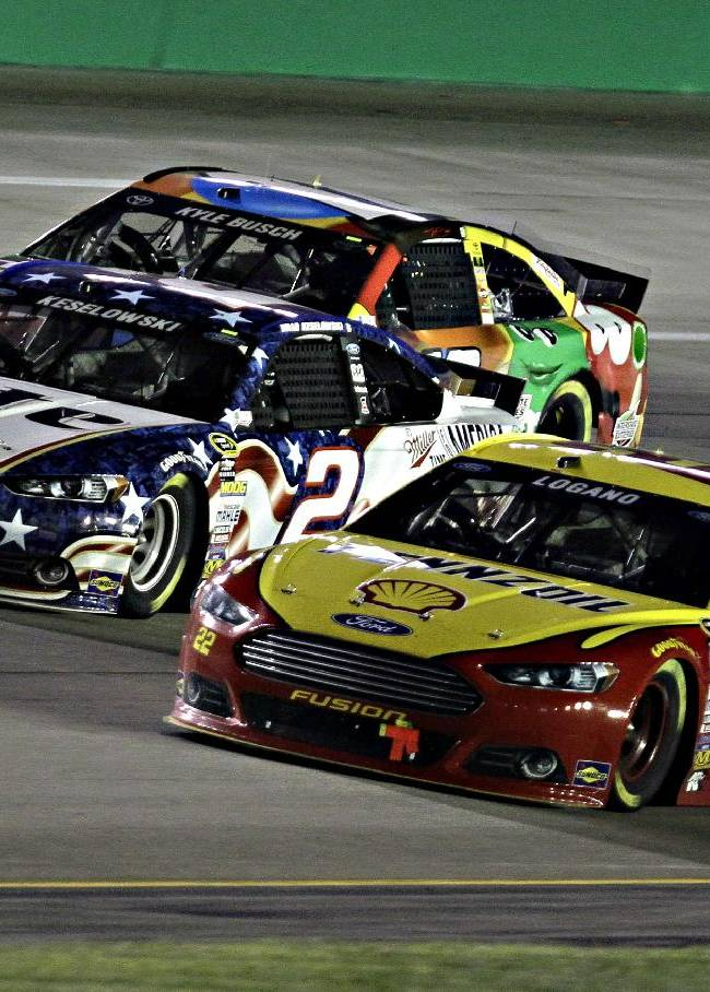 Keselowski hungry for another NASCAR championship