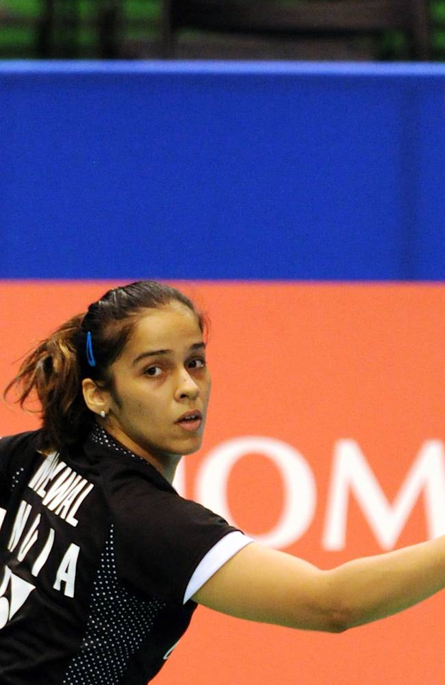 Fourth-seeded Saina Nehwal of India eyes