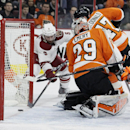 Simmonds gets winner in SO as Flyers beat Coyotes 4-3 The Associated Press