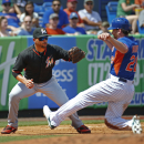 DeGrom 5 shutout innings; Mets beat Marlins' split squad 6-4 The Associated Press