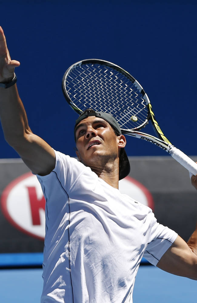 Nadal faces new Swiss star at Aussie Open final