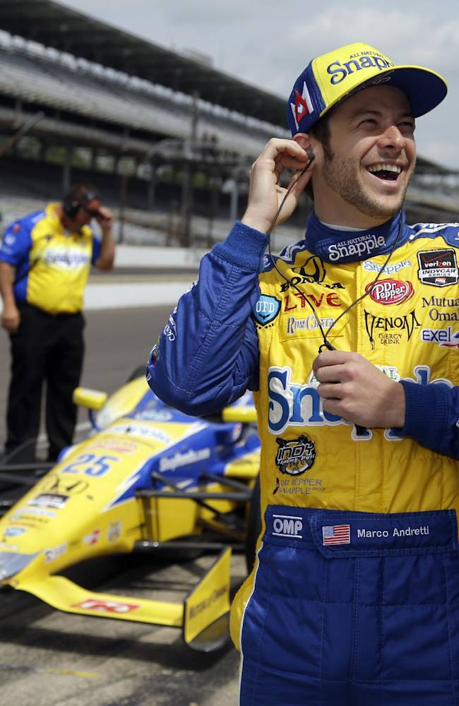 Andretti team posts 2 best times in Indy practice