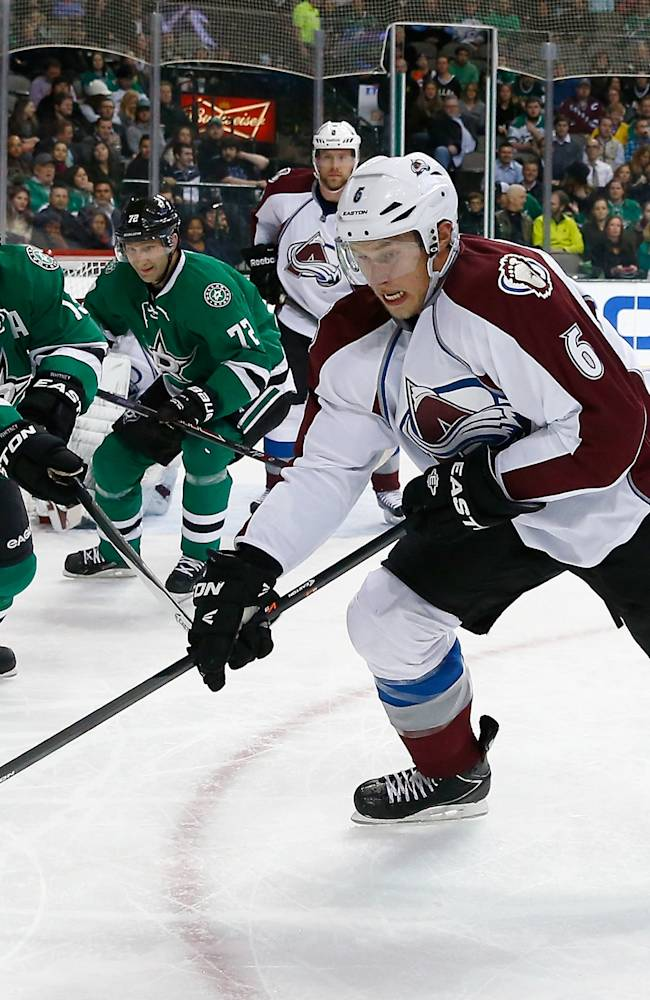 Colorado Avalanche v Dallas Stars