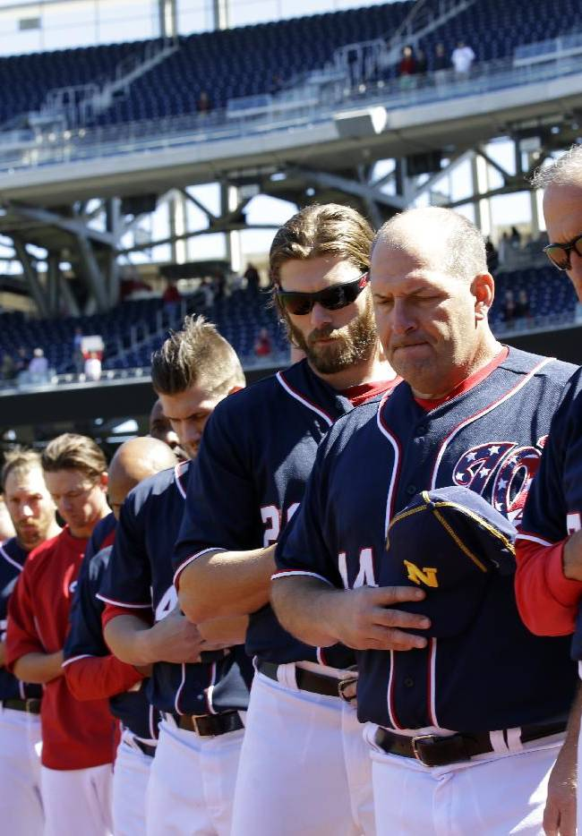 Nationals sweep doubleheader from Braves