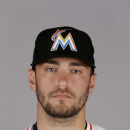 This is a 2015 photo of Jarred Cosart of the Miami Marlins baseball team. This image reflects the Marlins active roster as of Wednesday, Feb. 25, 2015, when this image was taken. (AP Photo/Jeff Roberson)