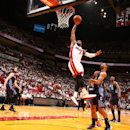 James, Wade lead Heat past Bobcats 99-88 in Game 1 The Associated Press