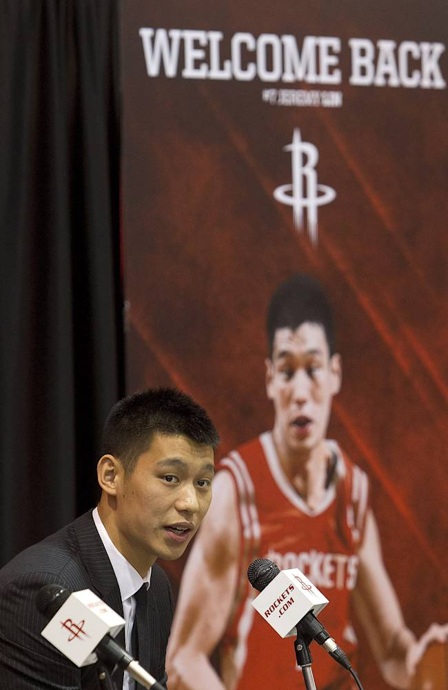 Houston Rockets Introduce Jeremy Lin